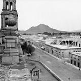 Vista panorámica de Chihuahua (por William Henry Jackson, c. 1888)