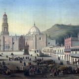 Plaza principal de Zacatecas (c. 1836)