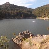 Remanso de la presa El Cedral, Hidalgo. Mayo/2013