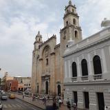 La catedral de Mérida, Yucatán. Abril/2013