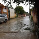 Calle Agustín Abundez. Huitzuco, Guerrero. Julio/2013