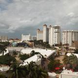 La zona hotelera y plaza Caracol. Noviembre/2013