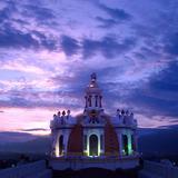 Cúpula principal de la Parroquia de Santiago Apóstol