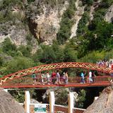 Puente en el Balneario de Aguas Termales