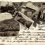 Vista de Zacatecas, Aguascalientes, el Puente de Encarnación y el Cañón de Nochistongo