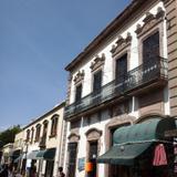 Calles Hidalgo, Zaragoza y calzada de Guadalupe.