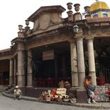 Mercado antigüo, hoy restaurantes típicos. Abril/2014