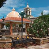 Templo, Presidencia y Jardín