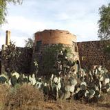 Ruinas de la antigüa mina de Santa Brígida. Abril/2014