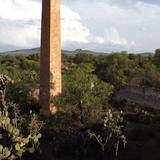 El chacuaco de la Mina de Santa Brígida. Abril/2014