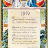 Postal conmemorativa del centenario de la Independencia, en 1910