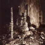 Las Palmeras, en las Grutas de Cacahuamilpa (circa 1920)