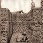 Interior del Sepulcro Cruciforme (circa 1920)