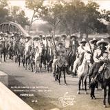 Alfredo Campos y su guerrilla entrando a Culiacán (1912)