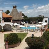 Vista del Hotel Montetaxco. Julio/2014