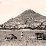Atlixco, Cerro de San Miguel, 1916