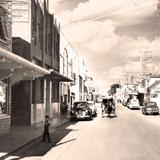 Villa Acuña, calle principal, 1949
