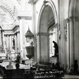 Interior del templo de San Diego