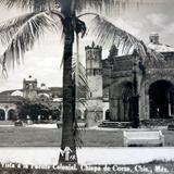 Vista fuente colonial