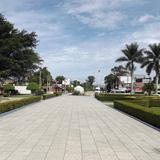Parque central de Santa María del Tule. Julio/2014