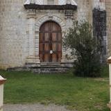 Portada lateral de la parroquia de San Mateo. Julio/2014