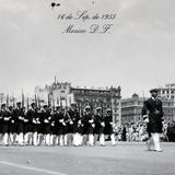 Desfile de el 16 de Sep.1955