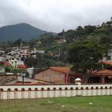 Vista parcial de Capulalpam en la Sierra Juárez. Julio/2014
