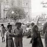 ESCENA TIPICA LA PLAZA Hacia 1945