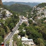 Zona norte y carretera a México desde el teleférico. Julio/2014