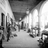 El Mercado de San Marcos (por William Henry Jackson, 1891)