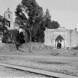 Iglesia de Mexicalcingo (por William Henry Jackson, c. 1887)