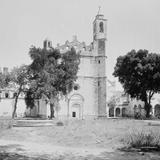 Iglesia en Tula (por William Henry Jackson, c. 1888)