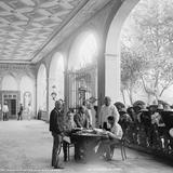 Administrador de San Luis y oficiales en la Hacienda de Peotillos (circa 1888)