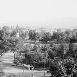 Alameda de San Luis Potosí (por William Henry Jackson, c. 1888)