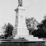 Monumento a Hidalgo en la Alameda (por William Henry Jackson, c. 1888)