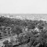 Vista panorámica de San Luis Potosí V (por William Henry Jackson, c. 1888)
