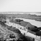Estación del Ferrocarril (por William Henry Jackson, c. 1888)