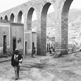 Acueducto de Zacatecas (por William Henry Jackson, c. 1888)