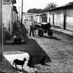 Una calle de Chapala