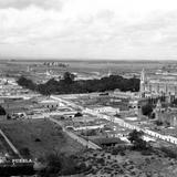 Vista panorámica de Cholula
