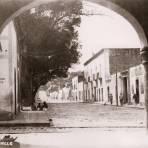Una calle en Tlaxcala