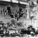 Fiestas del Centenario: Carro alegórico del Estado de Hidalgo