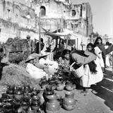 Vendedores de loza