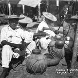 Vendedores de Pulque