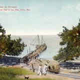 Muelle en Miramar, 15 km al sur de San Blas