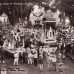 Celebración del centenario del natalicio de Benito Juárez