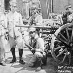 Artillería del Ejército durante la Revolución Mexicana