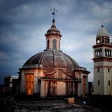 Cúpula de la 3a Orden y Torre del Mercado Morelos.