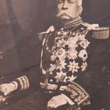 Presidente Porfirio Diaz Postal autografiada