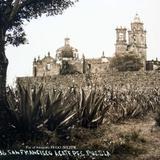 IGLESIA DE SAN FRANCISCO Por el fotografo HUGO BREHME Hacia 1930